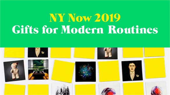 NY Now 2019: Gifts for Modern Routines