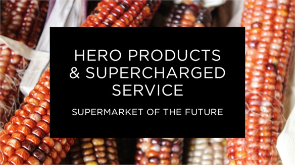 Supermarket of the Future: Hero Products & Super Service
