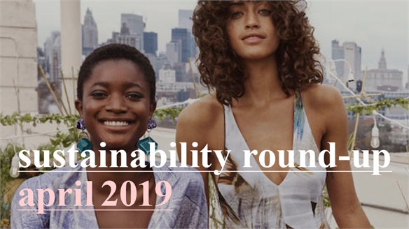 Sustainability Round-Up: April 2019