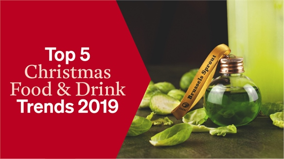 Top 5 Christmas Food & Drink Trends 2019