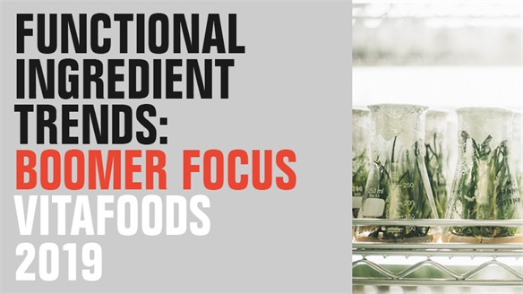 Functional Ingredient Trends: Boomer Focus