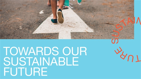 Towards Our Sustainable Future