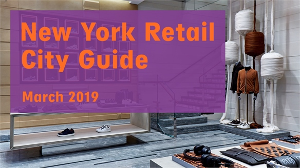 Retail City Guide: New York, March 2019