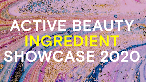 Active Beauty Ingredient Showcase 2020