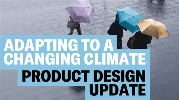 Adapting to a Changing Climate: Product Update