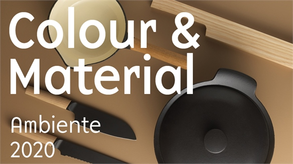 Ambiente 2020: Colour & Materials