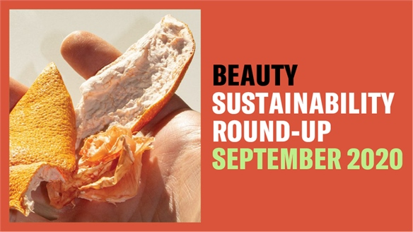 Beauty Sustainability Round-Up: Sept 2020