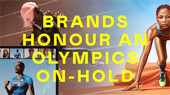Brands Honour an Olympics On-Hold