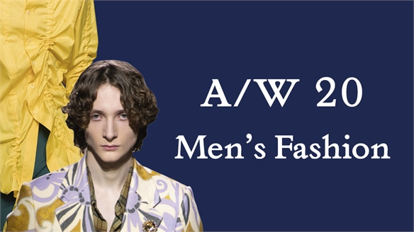 A/W 20: Men's Fashion