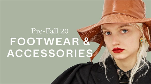 Pre-Fall 20: Footwear & Accessories