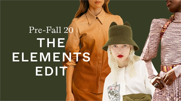 Pre-Fall 20: Elements Edit