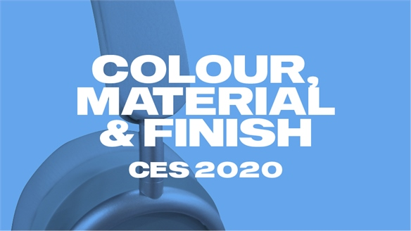 CES 2020: Colour, Material & Finish