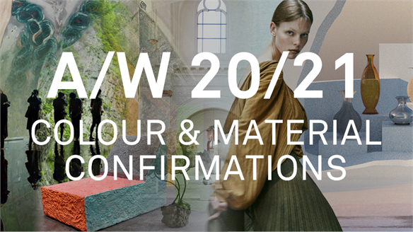 A/W 20/21 Colour & Material Confirmations
