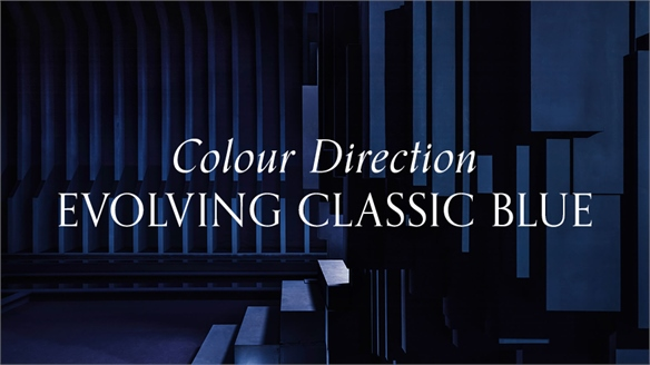 Colour Direction: Evolving Classic Blue