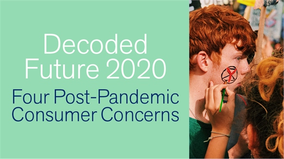 Decoded Future 2020: Four Post-Pandemic Consumer Concerns