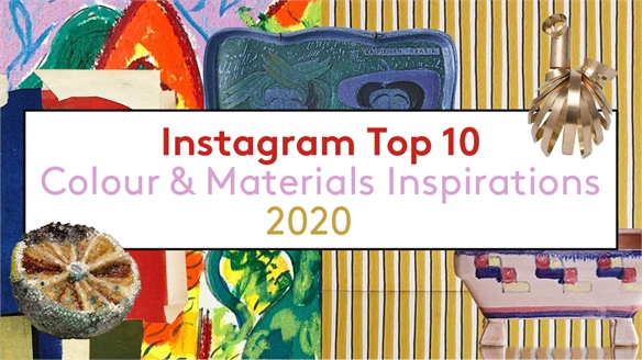 Instagram Top 10: Colour & Materials Inspiration 2020