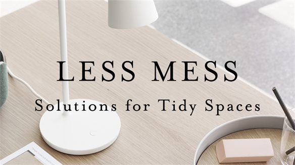 Less Mess: Solutions for Tidy Spaces