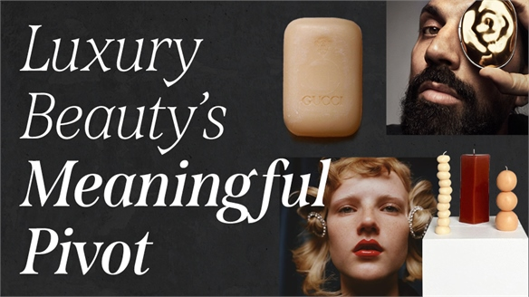 Luxury Beauty's Meaningful Pivot