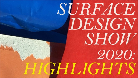 Surface Design Show 2020: Highlights