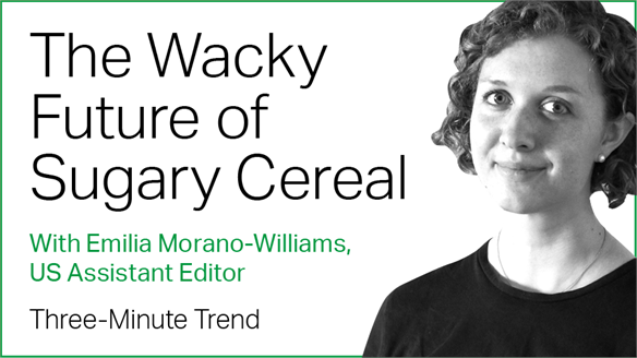 Three-Minute Trend: The Wacky Future of Sugary Cereal