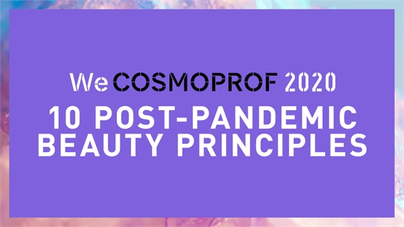 WeCosmoprof 2020: 10 Post-Pandemic Beauty Principles