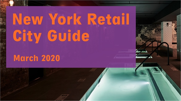 Retail City Guide: New York, March 2020