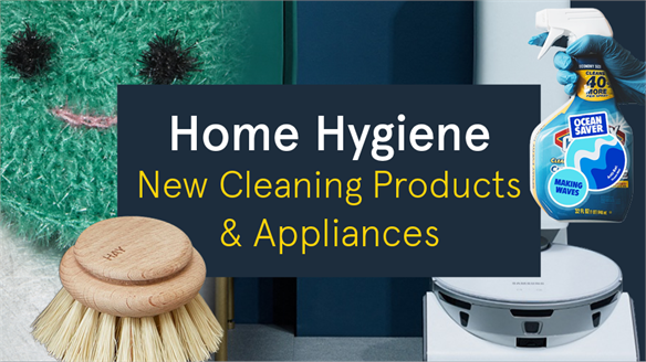 Home Hygiene: New Cleaning Products & Appliances