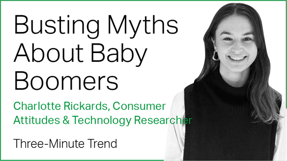Three-Minute Trend: Busting Myths About Baby Boomers