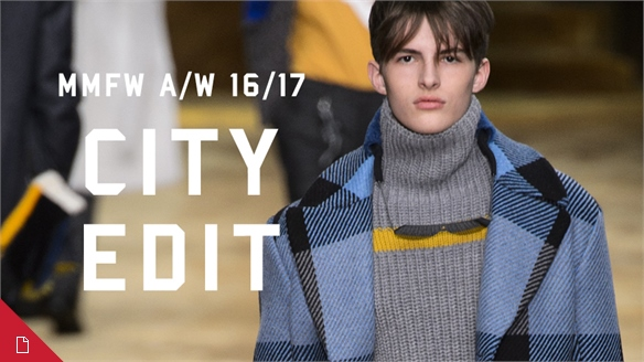 A/W 16/17 Menswear: Milan City Edit