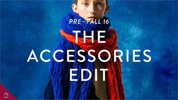 Pre-Fall 16: The Accessories Edit