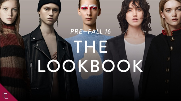Pre-Fall 16: The Lookbook
