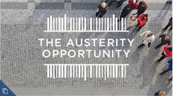 The Austerity Opportunity
