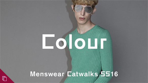 Menswear S/S 16: Colour