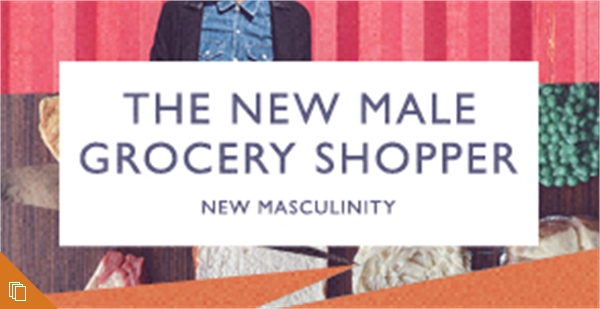 The New Male Grocery Shopper
