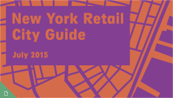 Retail City Guide: NYC, July 2015