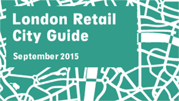 Retail City Guide: London, September 2015