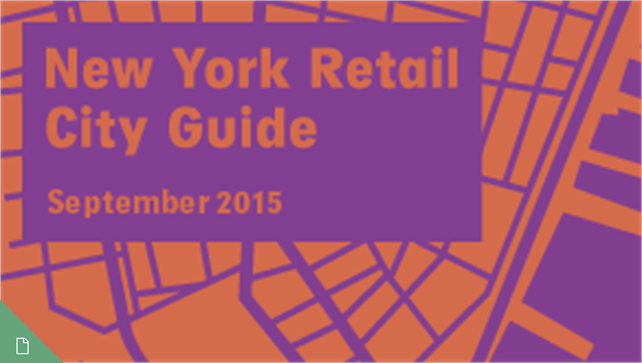 Retail City Guide: NYC, September 2015