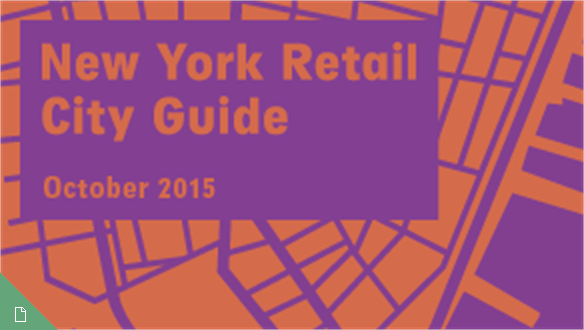 Retail City Guide: NYC, October 2015