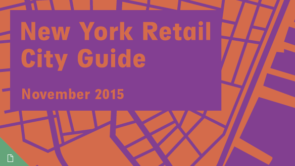 Retail City Guide: NYC, November 2015
