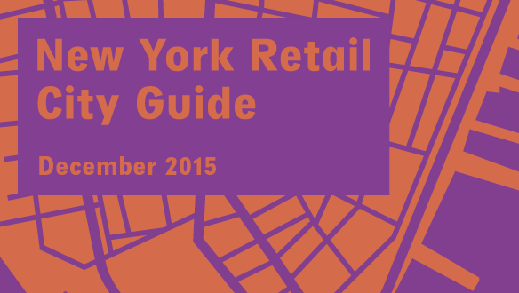 Retail City Guide: NYC, December 2015