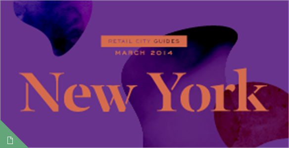 Retail City Guide: NYC, March 2014