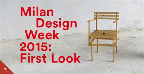 Milan Design Week 2015: First Look