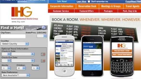 IHG iPhone Apps