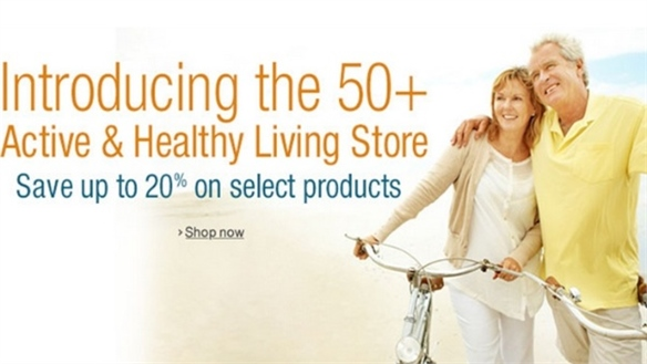 Amazon Targets 50+ with Healthy Living Store