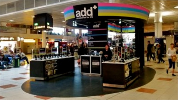 Dixons' Tech-Savvy Airport Concept Shop