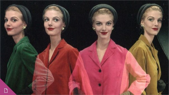 Erwin Blumenfeld: Colour