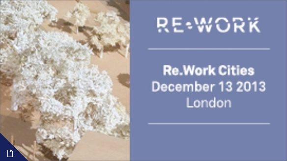 Re.Work Cities 2013