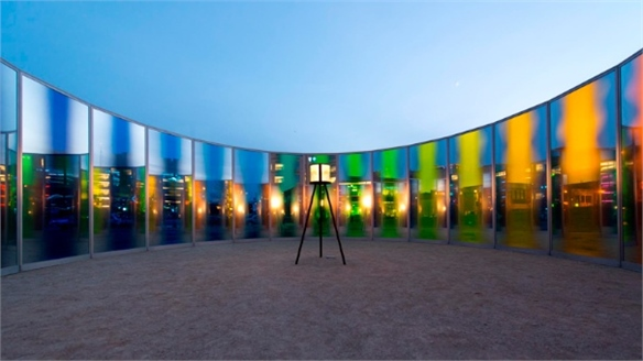 Olafur Eliasson: Panoramic Awareness Pavillion