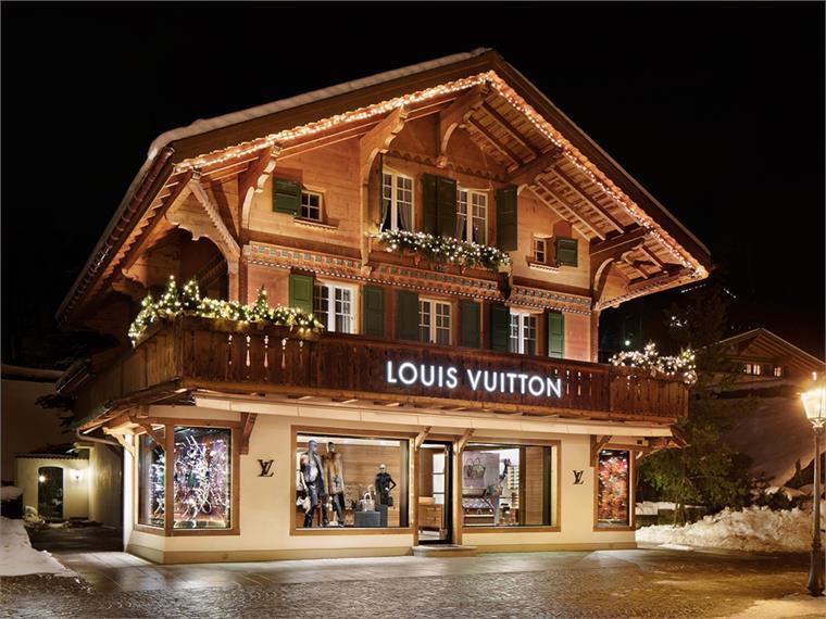 Louis Vuitton Ski Resort Switzerland Stylus