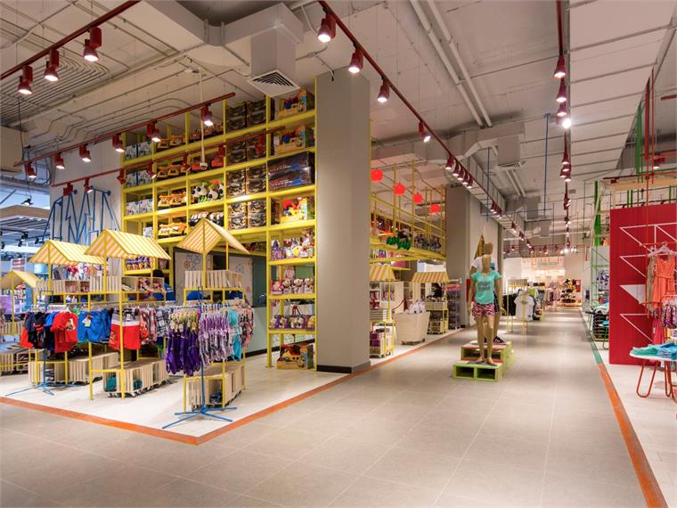 Kids Clothing Stores And Play Area